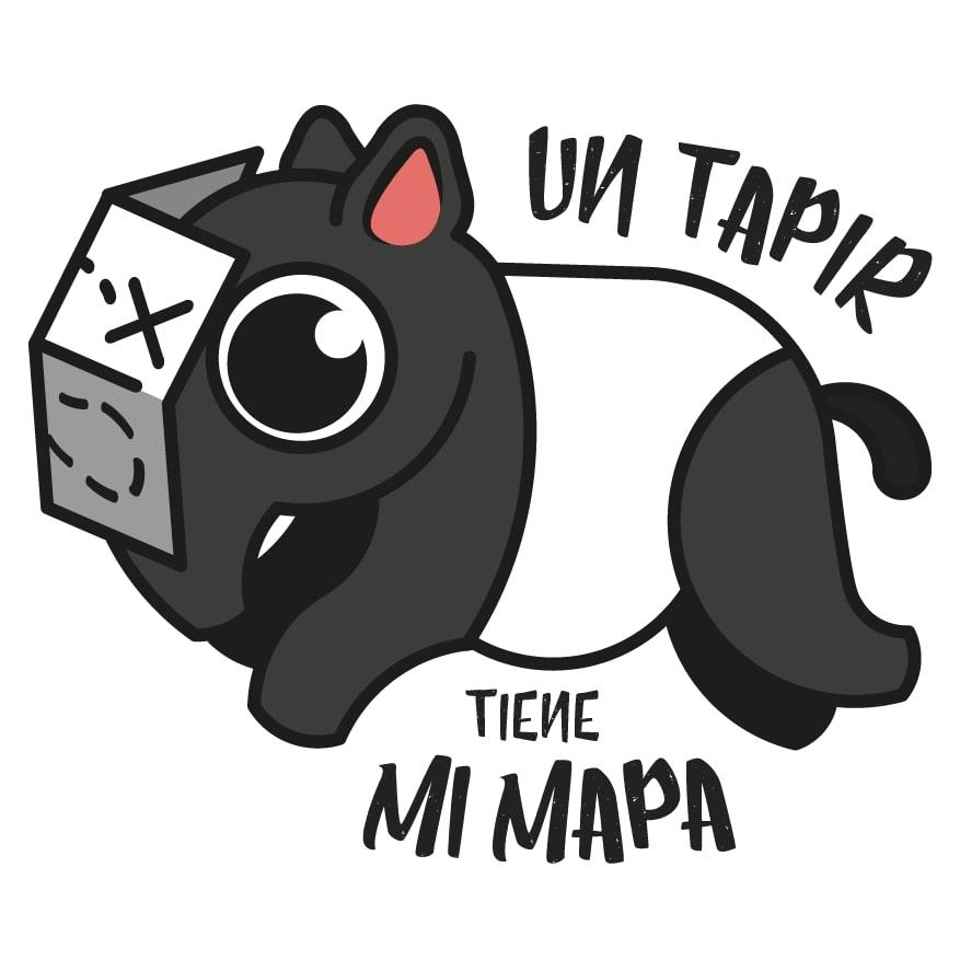Logo del blog con Mr Tapir