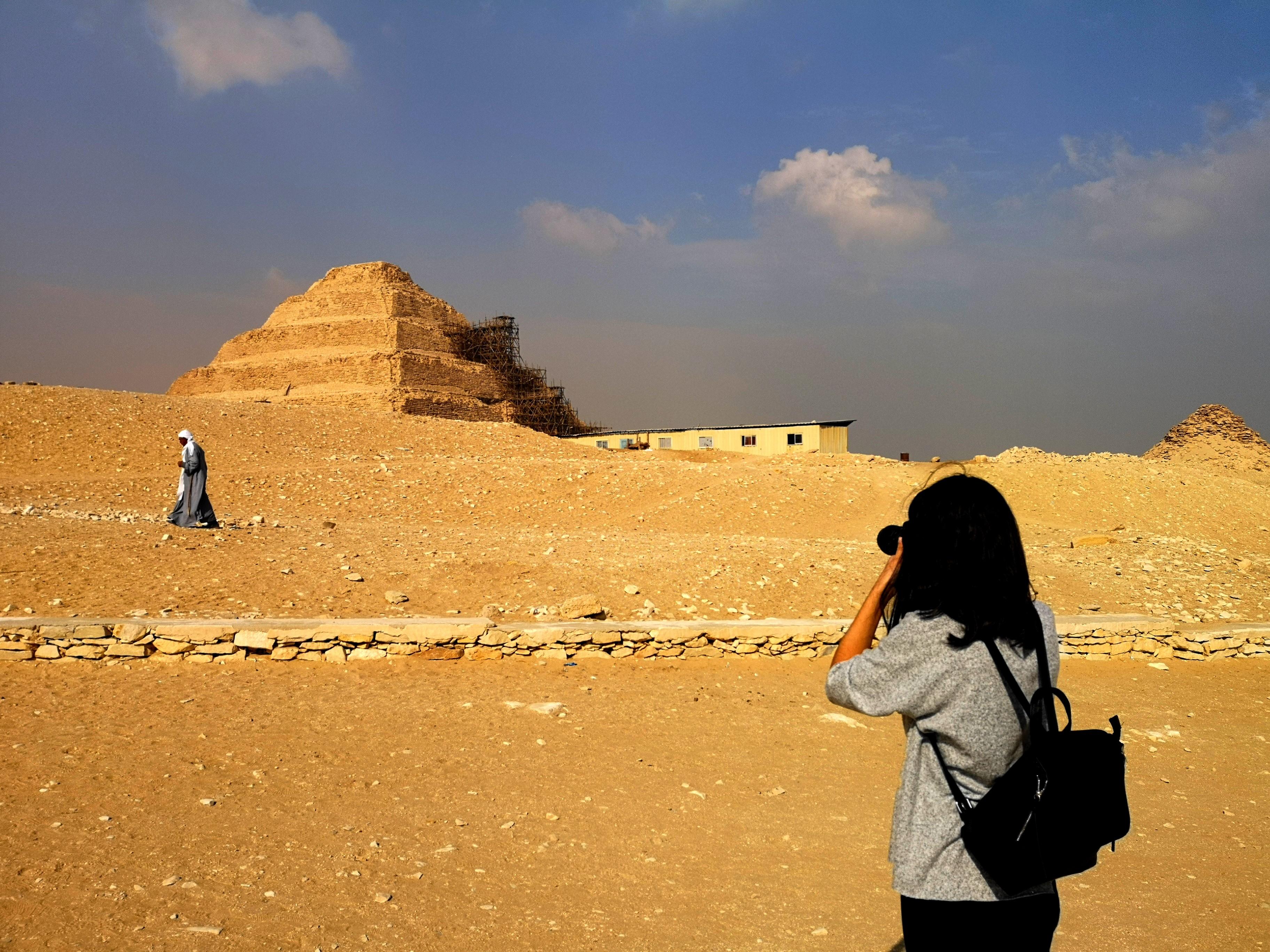 Pirámide Escalonada de Zoser.
