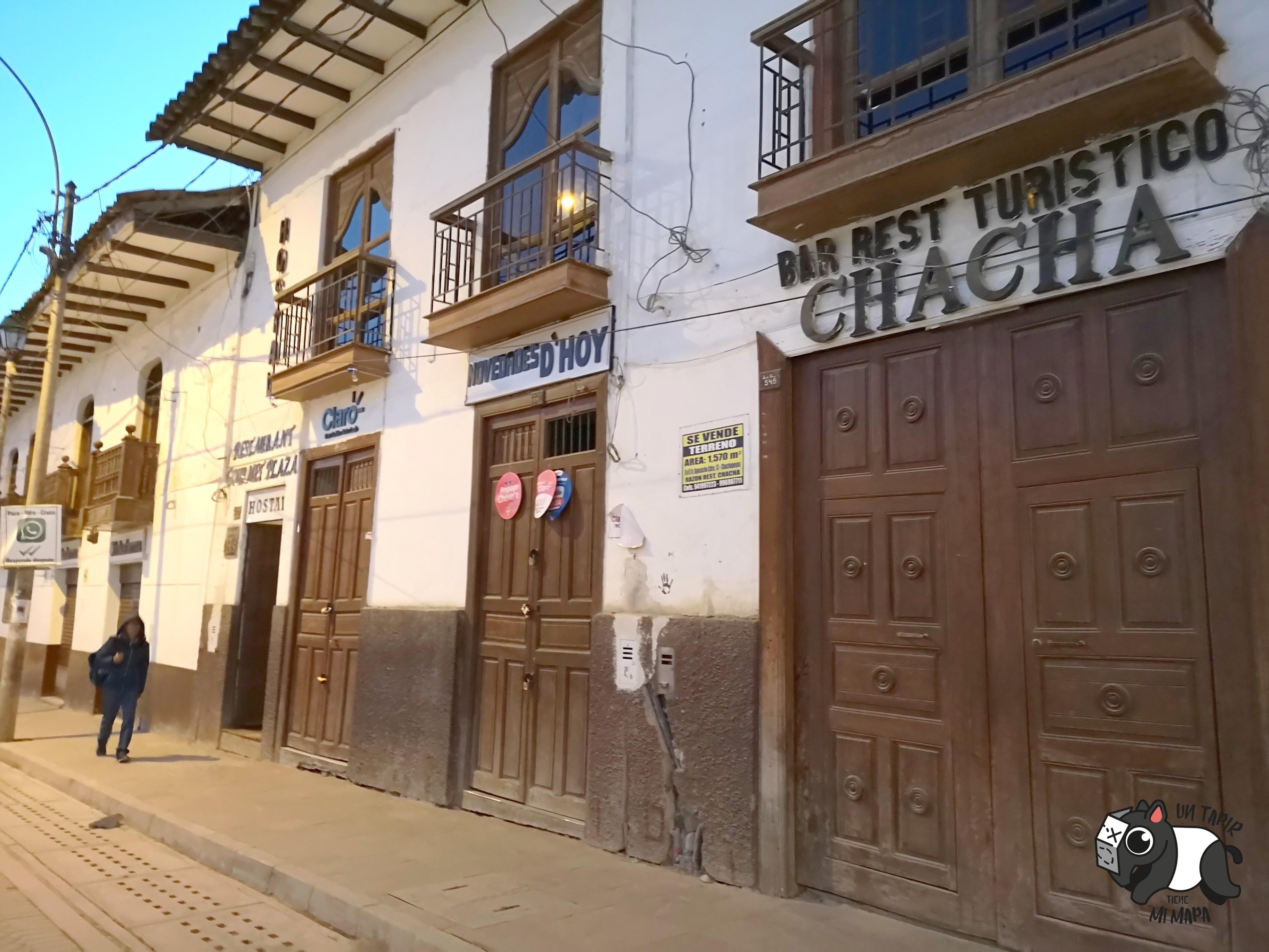 Plaza de Armas de Chachapoyas.