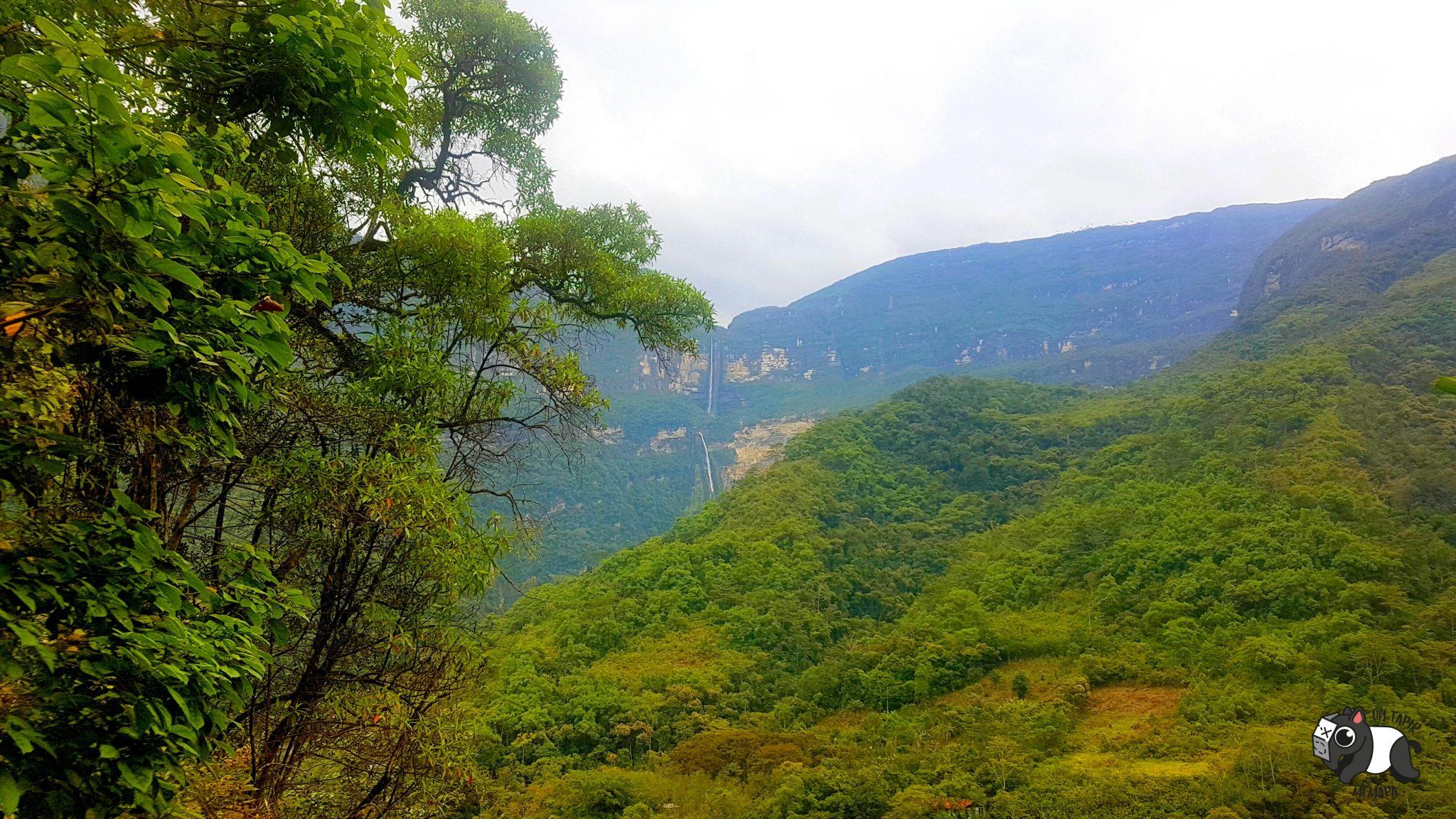 Mientras haces el trekking, las vistas son espectaculares.
