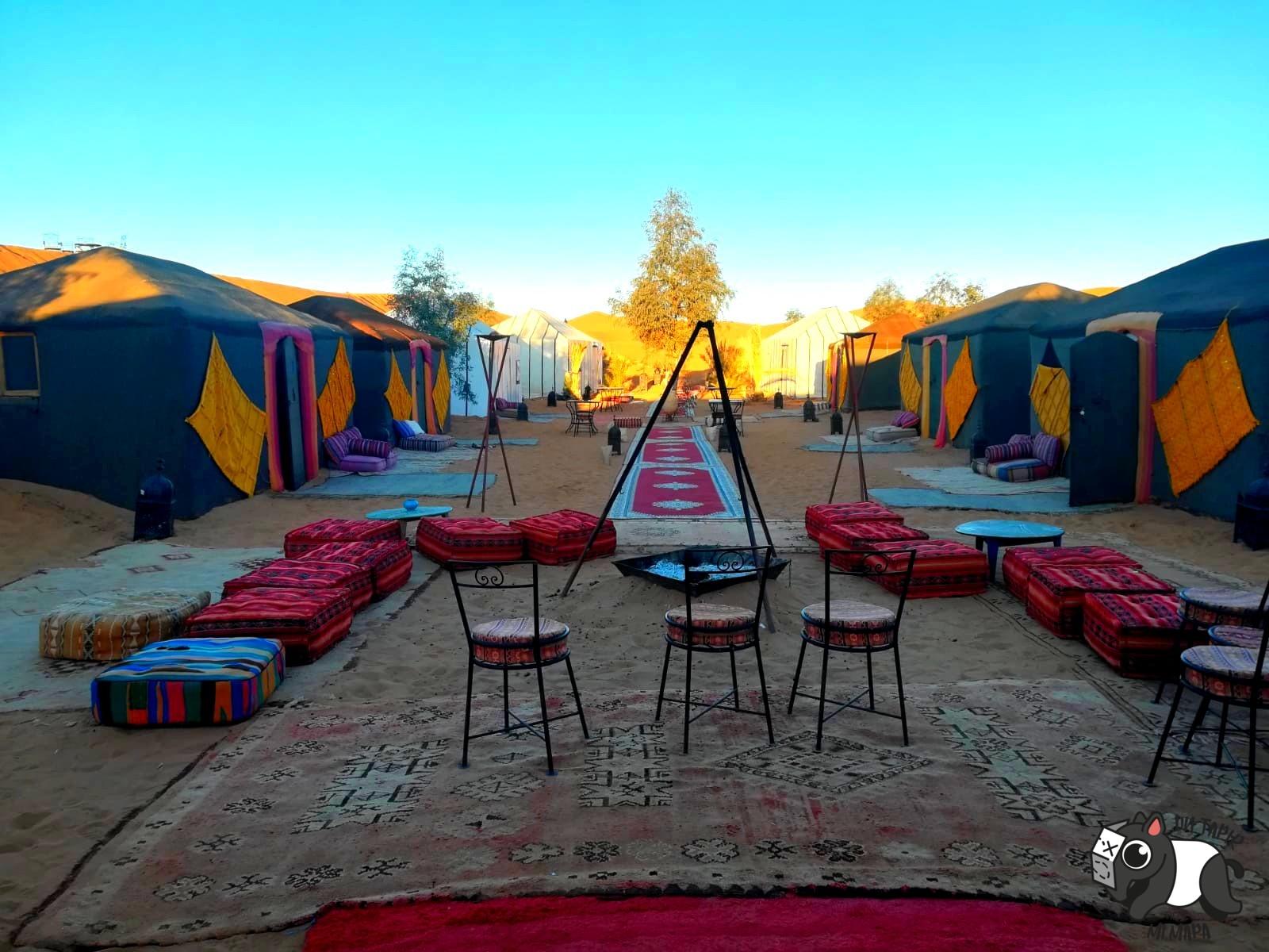 Campamento bereber.