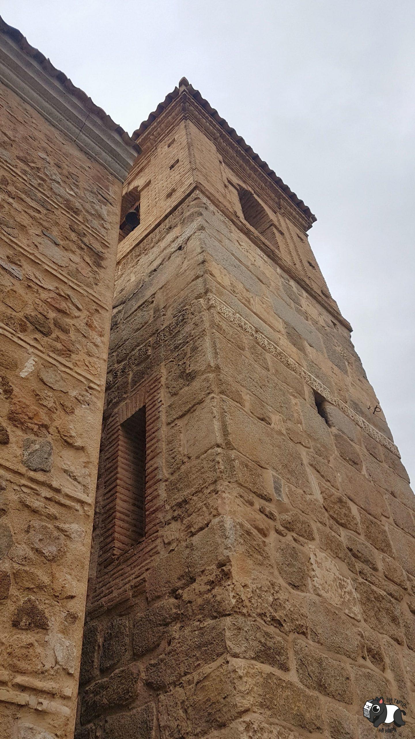 Torre del campanario de la Iglesia del Salvador, que antes era un minarete