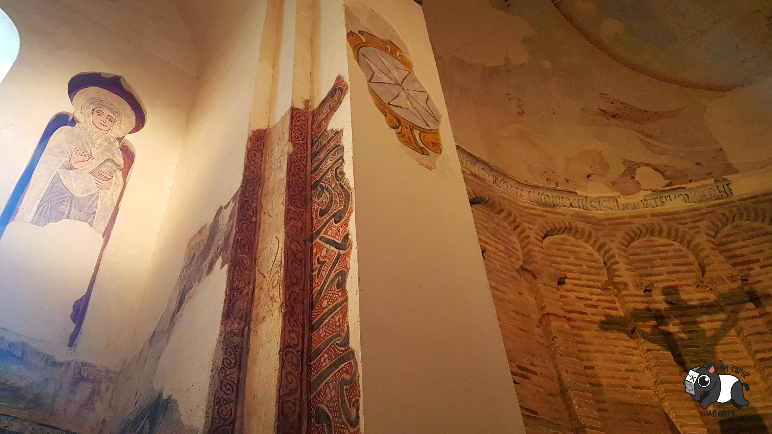 Interior de la antigua mezquita Cristo de la Luz